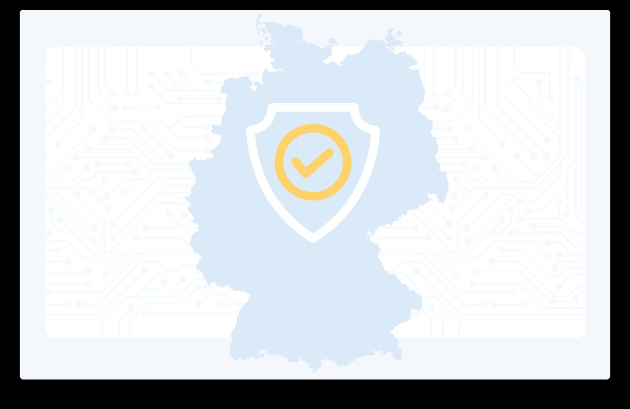 Die Projektmanagement Software wird in deutsche Rechenzentren gehostet