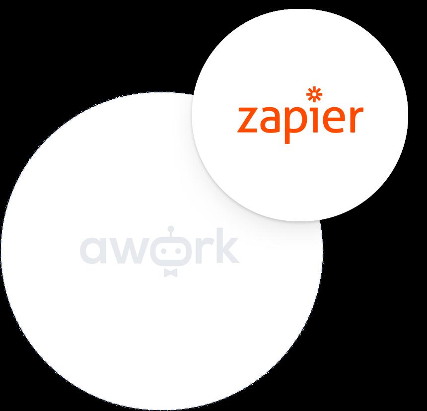 awork dank Zapier mit über 1.000 Apps verknüpfen