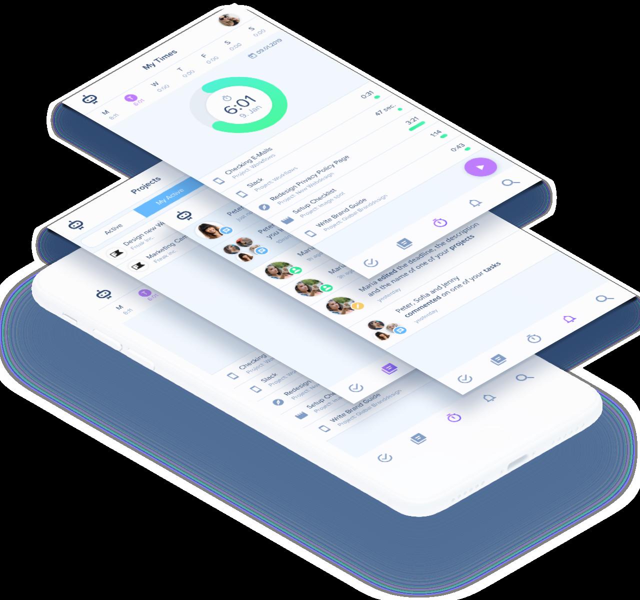 Native Apps für iOS und Android.