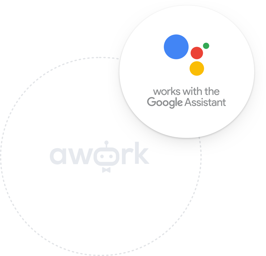 Integration Google Assistant mit awork