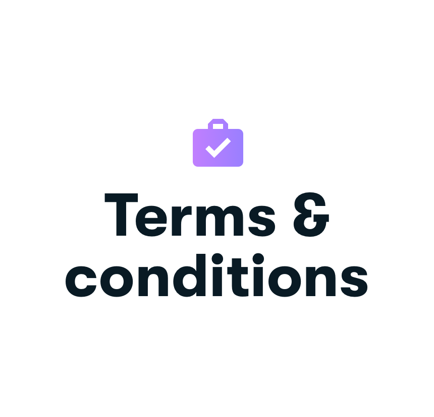 awork terms and conditions
