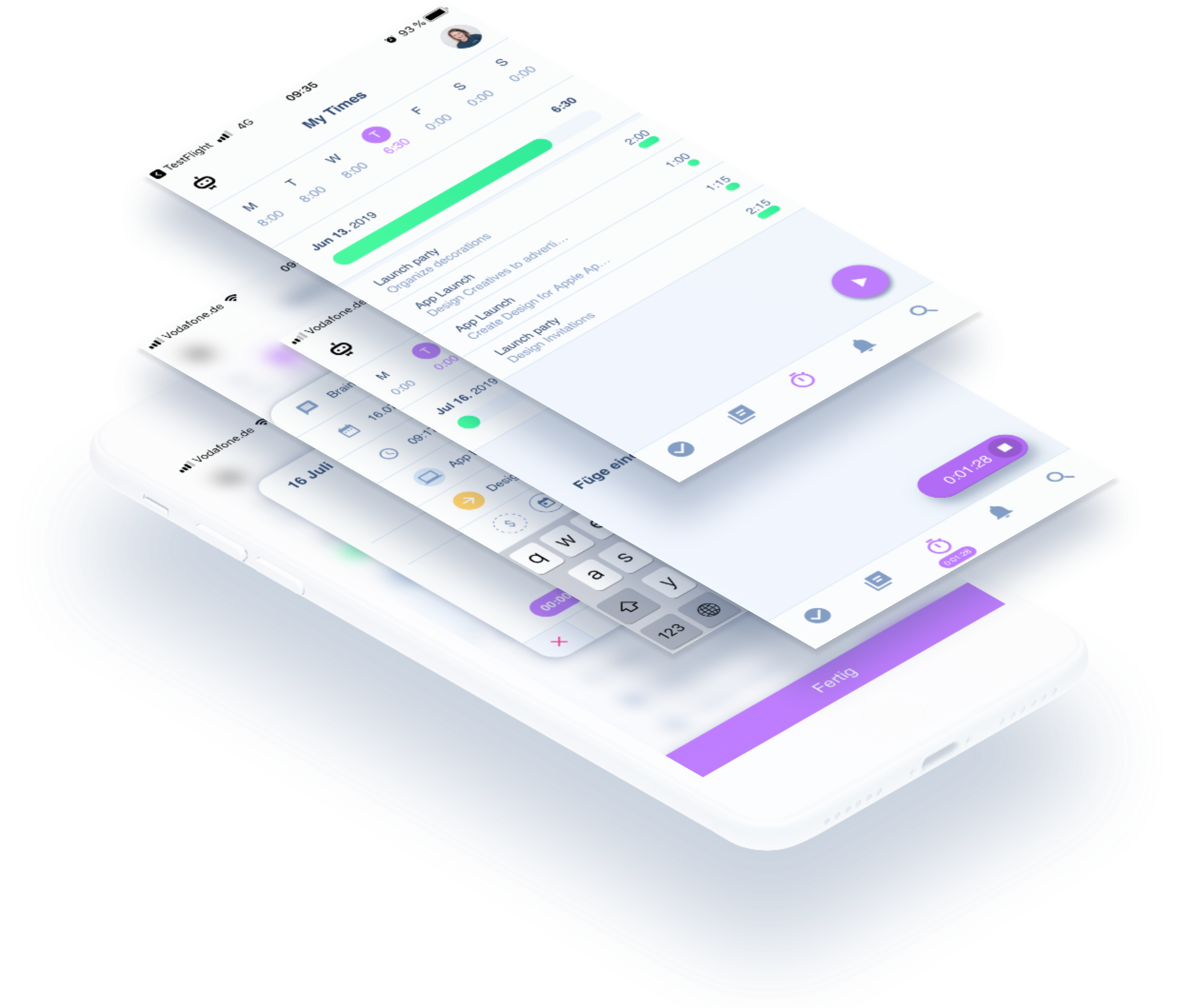 Zeiterfassung per App mit awork