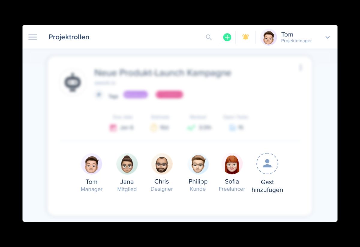 Die awork Alternative ermöglicht die Zusammenarbeit im Team, mit Kunden und Freelancern
